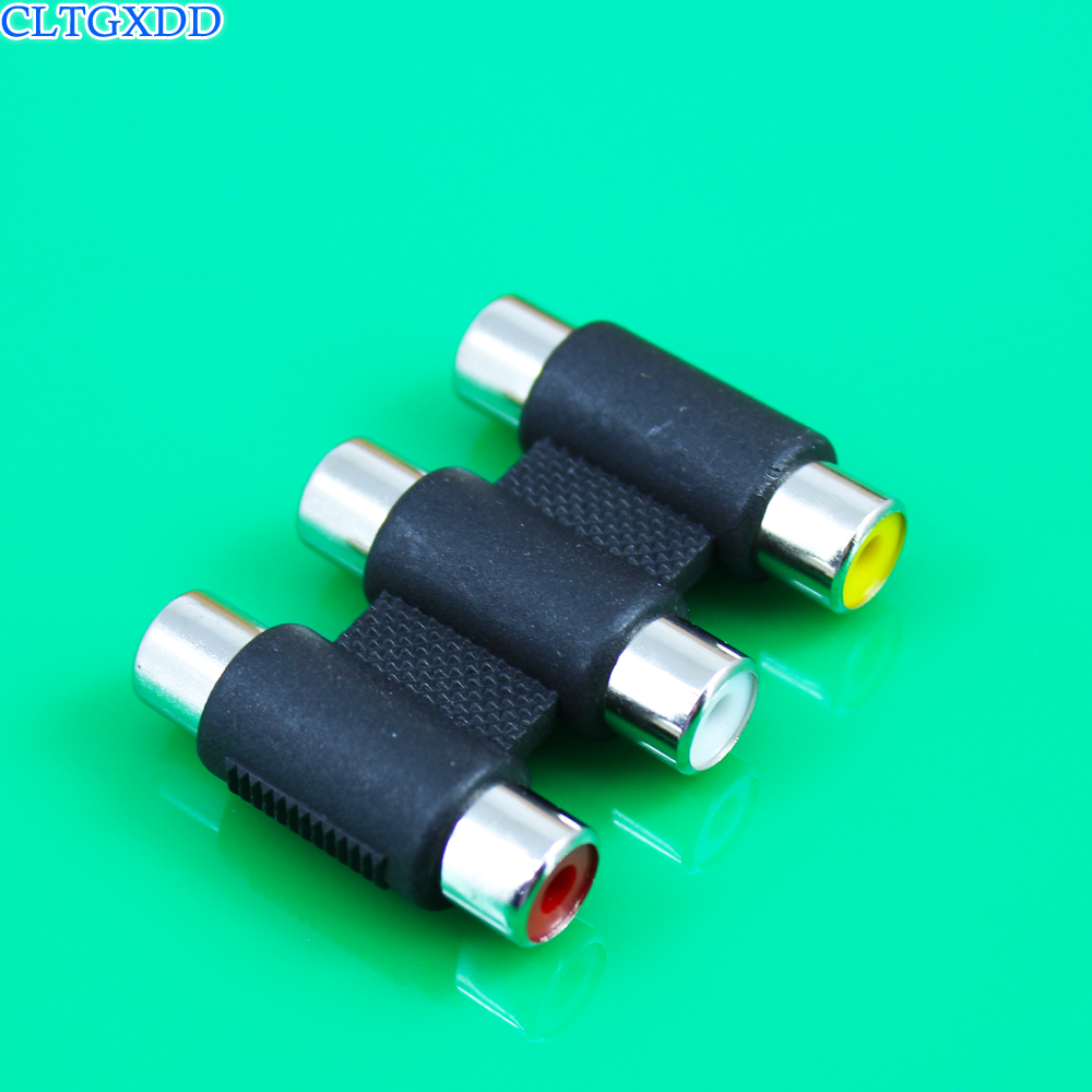10x Green Solder Type RCA Phono Female Jack Audio Video Cable Adapter Connector