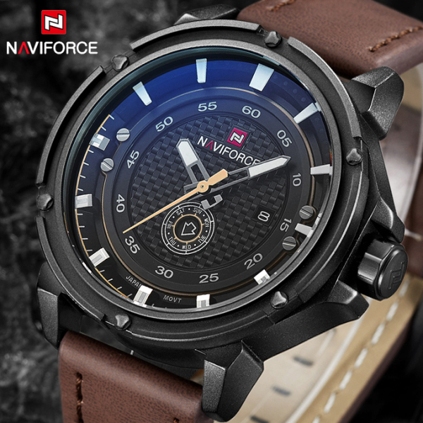 Top Luxury Brand Naviforce Men Sport Watches Men's Quartz Date Waterproof Clock Man Army Military Wrist Watch Relogio Masculino top luxury brand naviforce men sport watches men s quartz led analog clock man military waterproof wrist watch relogio masculino