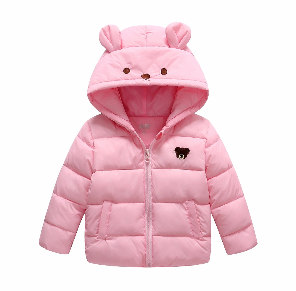 2017 newest Spray-bonded Wadding jacket outwear for girls cotton coat kids children parkas clothing gift winter free delivery bonded or free