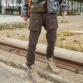 VIISHOW calça Casual calças hip hop calças dos homens slim fit Grande bolso roupas de Marca calças masculinas calças cair calças virilha homens roupas