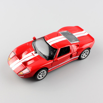 1:36 automaxx small Ford GT 1 mustang Sport die cast race car scale diecast vehicles miniature metal pull back models toys boys