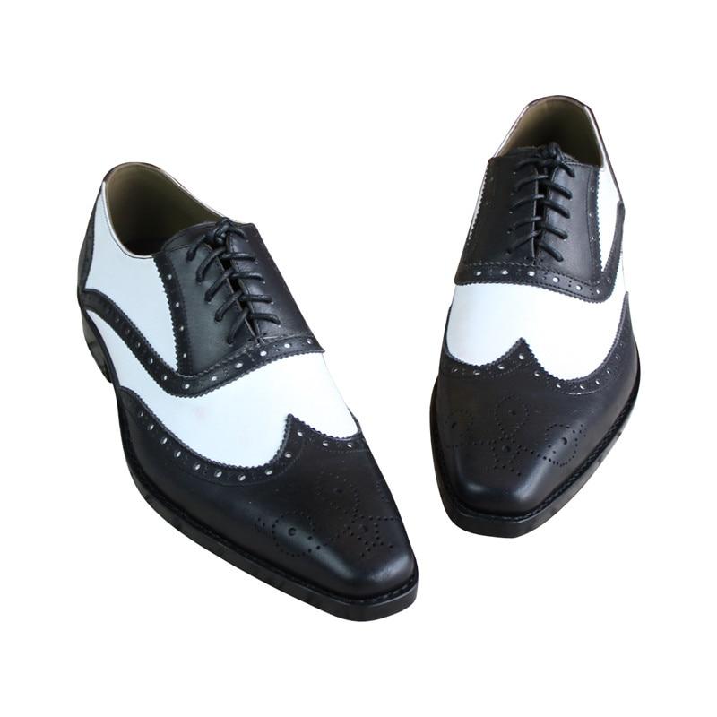 MALONEDA Culoare mixtă albă și albă Hnadmade Pantofi originali - Pantofi bărbați - Fotografie 2