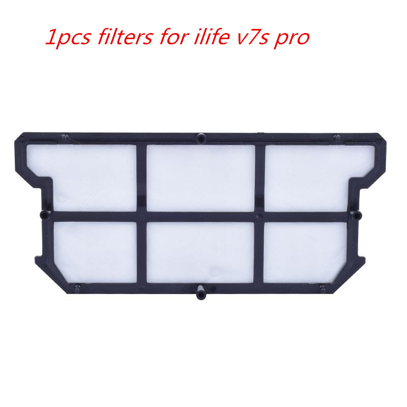 1pcs Original filters for ilife v7s pro for ILIFE V7S V7 V7s pro Robot Vacuum Cleaner accessories parts 1pcs original middle brush motor for ilife v7 v7s ilife v7s pro robot vacuum cleaner accessories parts supply from the factory