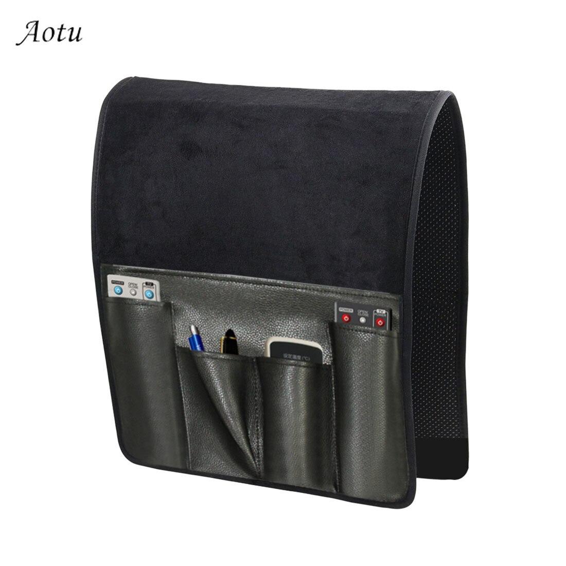 6 Pocket Sofa Couch Arm Rest Organizer Sofa Storage Bag