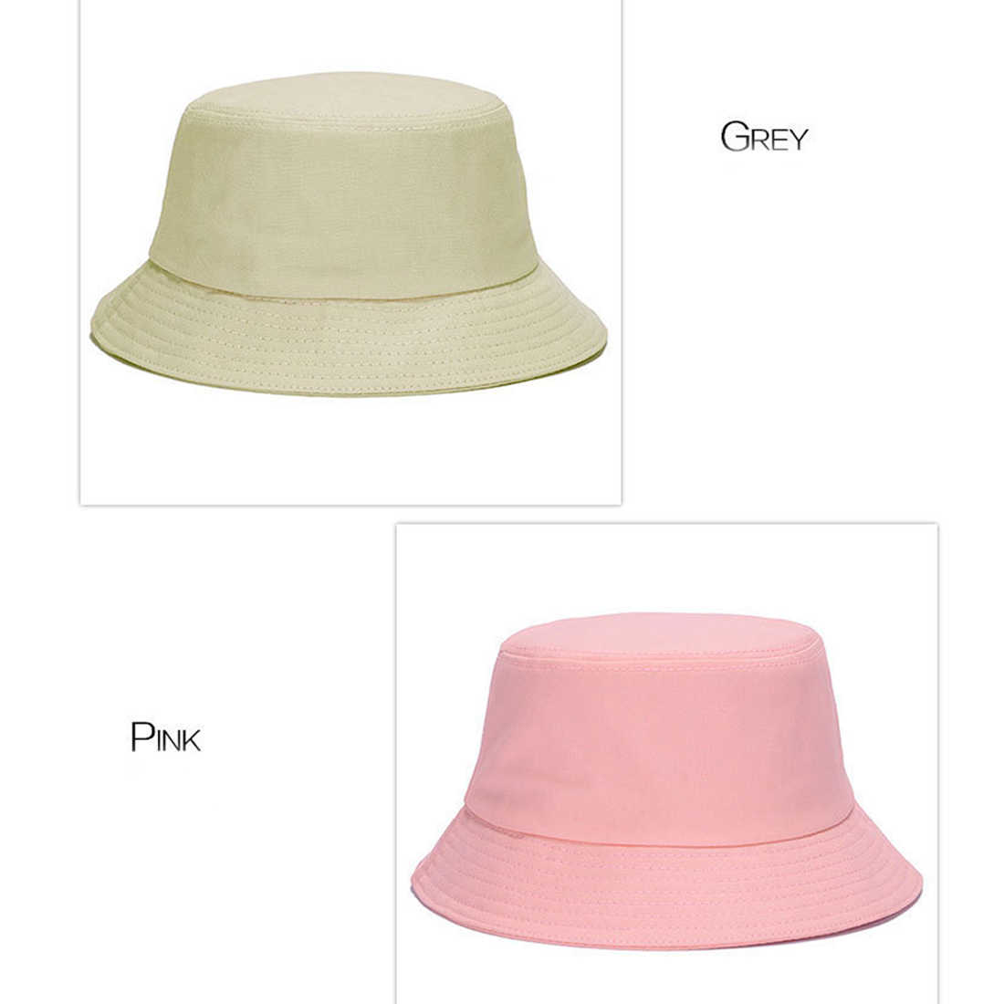 ... Korean jelly-colored Color Bucket Hats for Men Panama Women Hat  fisherman hat Street DIY ... 2f8f2f2025a8