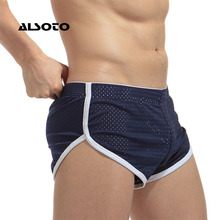 ALSOTO New Mens Swimwear Briefs Sunga Beach Shorts Breathable Quick-drying Low R