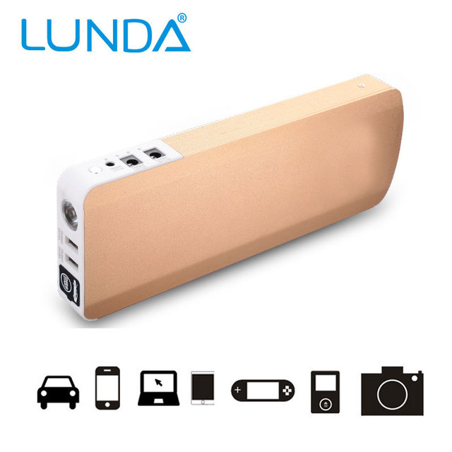 Actual Capacity 18800mah Can start 5.0 Diesel Engine  12v High power Petrol Emergency Start Mobile  power supply 2016 New-Style