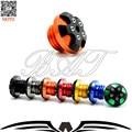 Orange cnc de la motocicleta magnética engine oil filler cap moto bike motor aceite tapa para yamaha tmax 500 tmax 530 mt-09