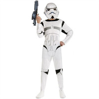 Classic Child Boy Kids Star Wars The Force Awakens Storm Troopers Cosplay Fancy Dress Kids Halloween