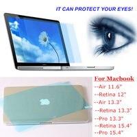 Protector de pantalla de luz azul para Macbook Air 13, película protectora para Mac book Air 13,3, protección ocular