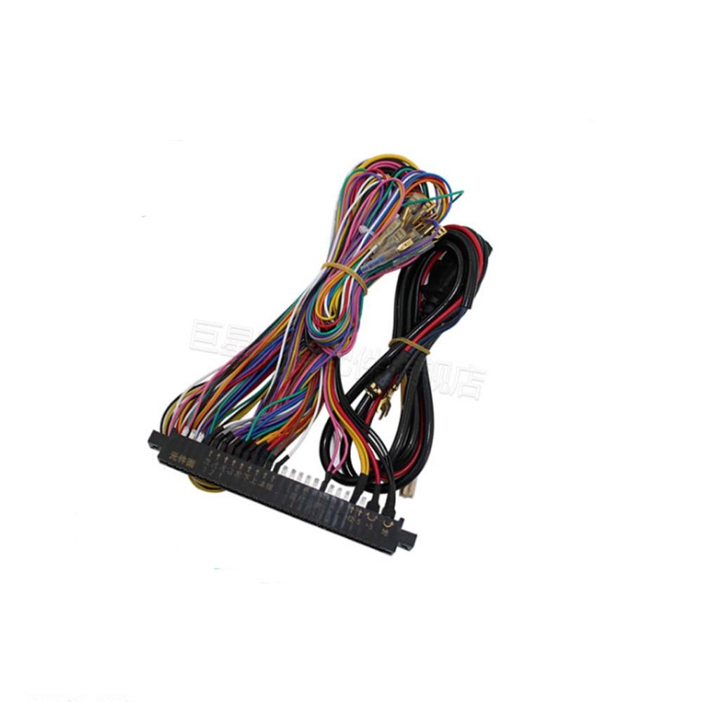Zero Delay Pc Arcade Game Diy Parts Kit 2x 8 Way Joystick 16x Box For Computer Wiring Harness 2 Pcs Classical Jamma Wire Machine Pandora 4s