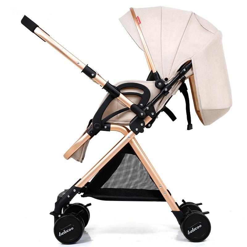 High Landscape Lightweight Strollers Folding Portable Traveling Pram Yoya Plus 3 Stroller Baby Carriage Pushchair Pink Stroller