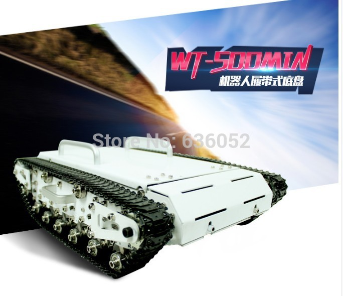 Big Bearing Weight Tank Chassis RC Tracked Car Remote Control Mobile Robot Explore Communication Eduaction Caterpillar Broadland big tank car chassis tracked car weight 8 5kg load carry more than 30kg obstacle surmounting robot parts for remote control