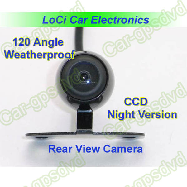 General CCD 135 Degree Car Rear View Camera+Waterproof +Night Version for Universal Version