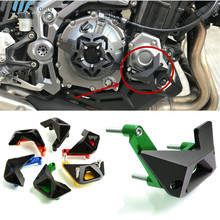 Se adapta para kawasaki Z1000 Z 1000 2010 2017 Z900 Z 900 CNC 2017 motor de aluminio deslizante Protector del motor de la motocicleta guardia proteger