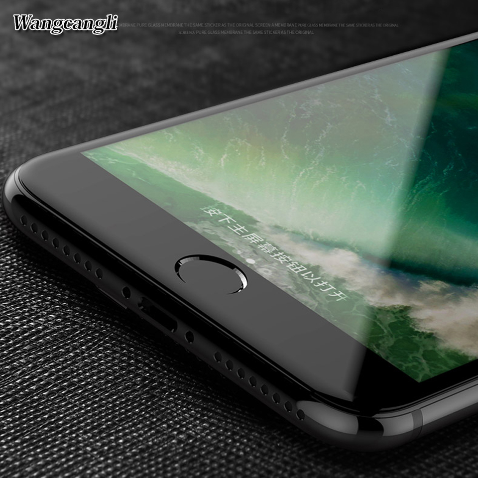 wangcangli Upscale Full täckning 3d Skyddsglas för iPhone 6 6s plus - Reservdelar och tillbehör för mobiltelefoner - Foto 4