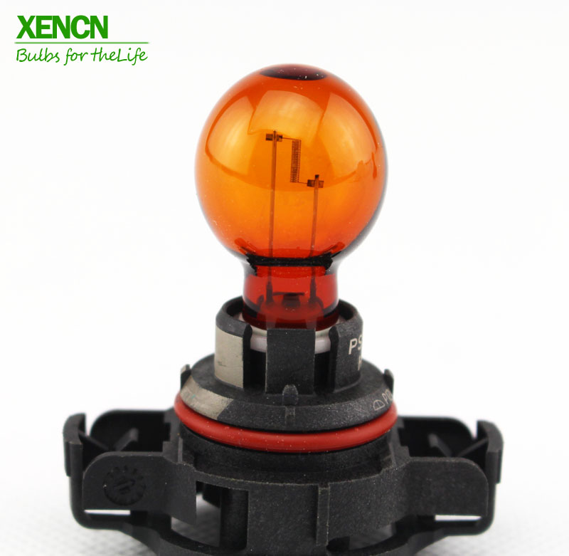 XENCN PSY24W PG20-4 12188NAC1 12V 24W Amber Color Halogen Fog Turn Signal Bulb For BMW Audi projector lamp bulb an xr20l2 anxr20l2 for sharp pg mb55 pg mb56 pg mb56x pg mb65 pg mb65x pg mb66x xg mb65x l with houing