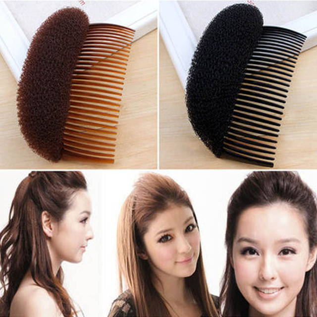 Comb Hair Brush Pro Hair Puff Paste Heightening Princess Hairstyle