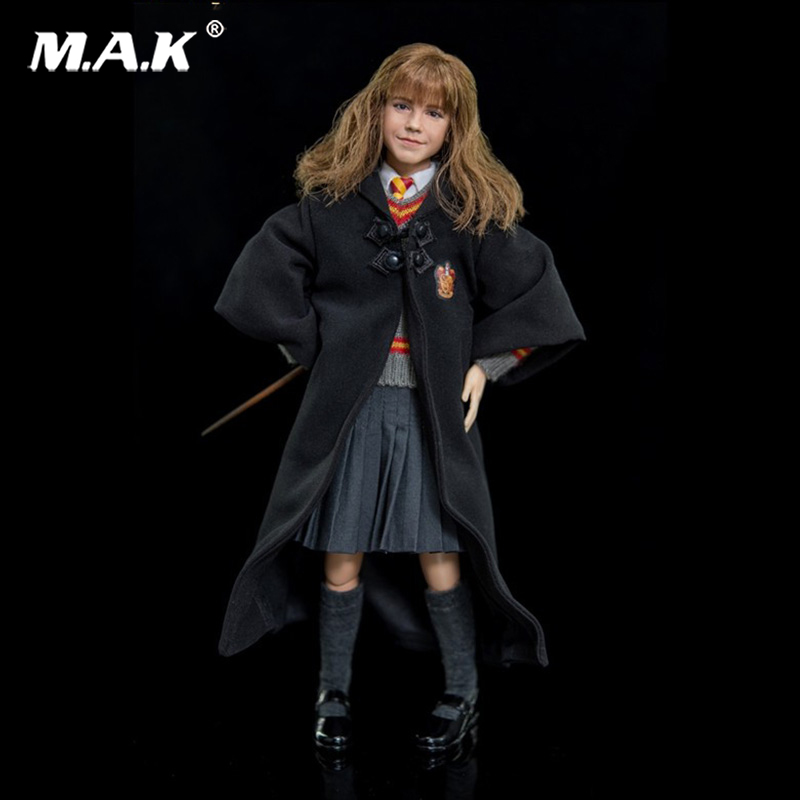 1:6 Scale Harry Potter and the Sorcerer's Stone Hermione Granger Collectible Action Figure 1 box harry potter candy 1 6 oz 1 bean boozled 1 2oz