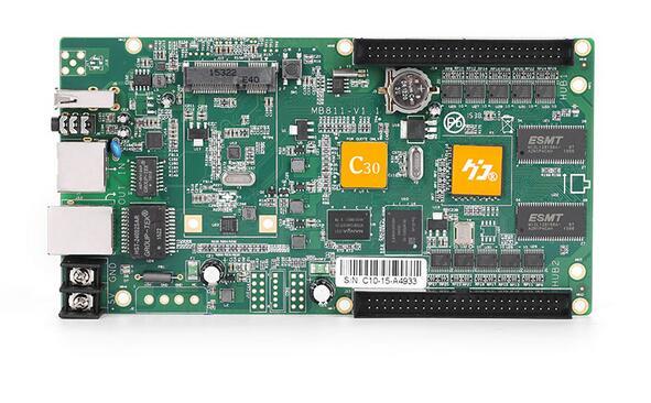 Hd c30 640*480 пикселей USB Ethernet huidu rgb led control карты для полноцветный светодиодный дисплей Крытый открытый P10 p8 P6 P5 P4 P3 p2 p2.5
