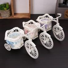 Bike candy box Flower vase stand Container Basket baby shower bridal shower birthday Wedding Centerpiece Tabletop Decoration