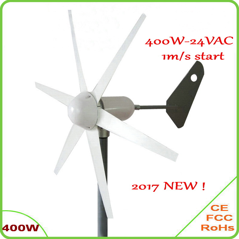 1m/s low wind speed start 400W AC three phase wind turbine generator 6 blades 12V 24V wind generator 400W wind turbine windmill решетка для пиццы azur 30 см
