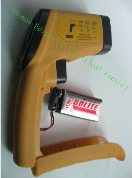 TECMAN TM550 non-contact infrared thermometer temperature measuring gun -50C ~ 550C Better than the smart temperature AR842A  цены