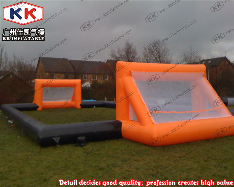 Super quality commercial use durable giant inflatable football field factory price