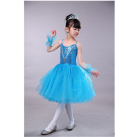 67307c889 Romantic Long Tulle Ballet Dress Sequins White Swan Lake Ballet Costumes  Children Girls Kids Classical Ballet. Romântico Longo vestido ...