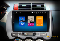 RoverOne Android 8.0 Octa Core Car Radio GPS Navigation For Honda Jazz Fit 2002 2008 Touchscreen Multimedia Player NO DVD