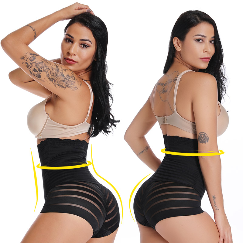 Women Shapers Waist Trainer High Slimming Control Panties Corrective Super Elastic Body Shaper Underwear Girdle