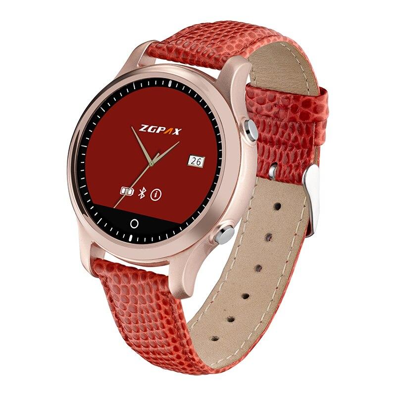 Bluetooth SmartWatch ZGPAX S360 Mens Women Sports WristWatch Wearable Devices font b Smart b font font