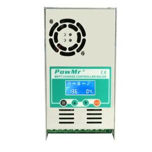 Image 5 - Mppt 120A 80A 60A 40A Solar Laadregelaar Backlight Lcd Solar Regulator 12V 24V 36V 48V auto Voor Zuur En Lithium Connector