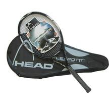 Высокое качество углеродного волокна теннисные ракетки оснащен сумкой ручка теннисной ракетки Размер 4 1/4 racchetta да теннис
