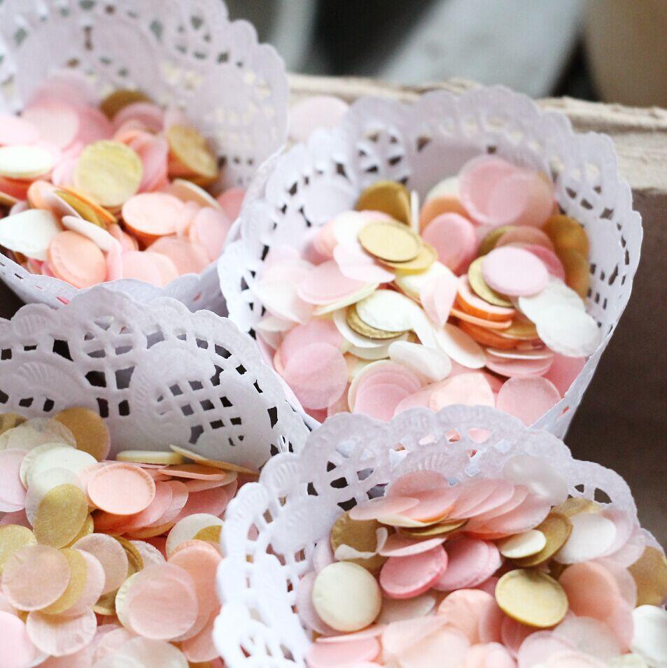 2 10g Bag Pink Gold Wedding Decor Baby Shower Centerpiece