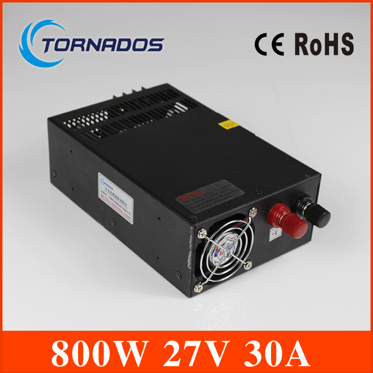 power suply 27v 800w ac to dc power supply ac dc converter input 110v 220v output 27v industrial switching LED driver 1200w 48v adjustable 220v input single output switching power supply for led strip light ac to dc