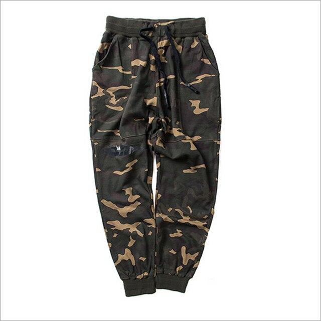 Новая мода камуфляж брюки летние свободные jogger брюки удобная и дышащая хлопок cross брюки для мужчин