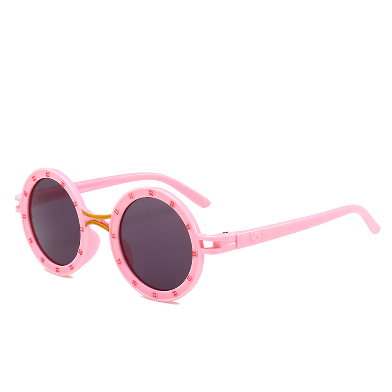 2018 Marke Kinder Sonnenbrille Punk Kinder Mädchen Sonnenbrille Diamant Rahmen Uv400 Spiegel Brillen Nx Senility VerzöGern