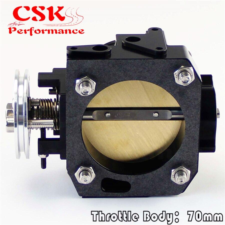 70 мм дроссельная заслонка для honda k-series/K20/Civic/EP3/type R/Integra DC5 черный
