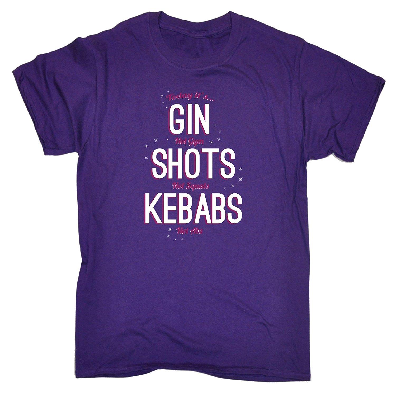 Для мужчин Gin. .. Снимков. .. Шашлыки футболка