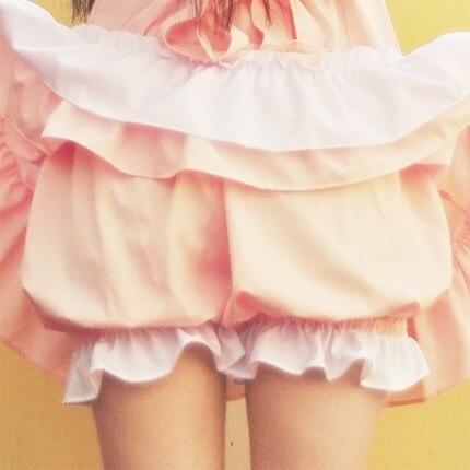 Princess sweet lolita Ice cream color shorts pumpkin Cosplay simple proof   security  KD0045