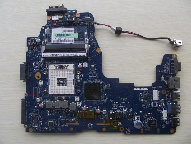 все цены на K000128590 LA-6832P P755 P750 A660 A665 LA-6832P TESTED BY SYSTEM lap  ssd adapters board онлайн