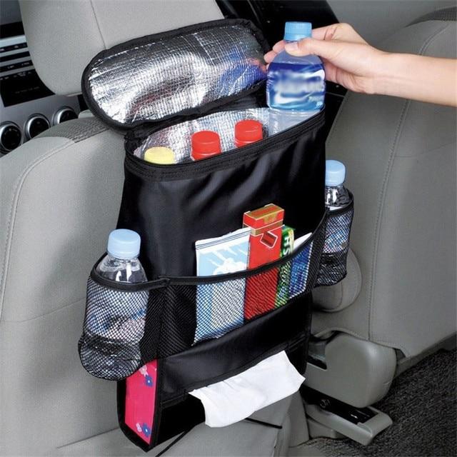 NEW Auto Back Car Seat Organizer Holder Multi Pocket Travel Storage ...