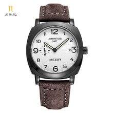 2 * # Новые брендовые модные спортивные часы пару часов и Часы даты часов Мужской студенты кварцевые часы Ретро Пояс подарок