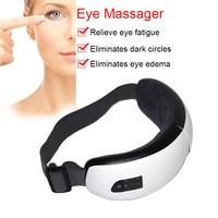 Newly Foldable Electric Eye Massager Heat Compression Wireless Bluetooth Music Eyes Care Mask