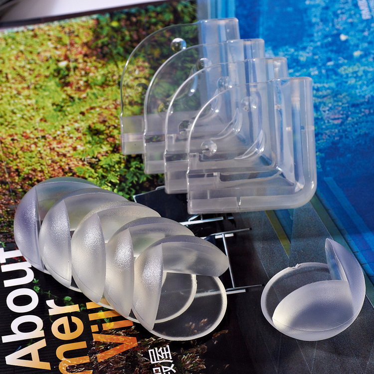 10PCS Baby Safty Safe Child Kids Safety Products Glass Table Corner Cushion Guards Protector Securite Enfant Silicone Children