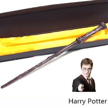 High Quality Gift Box Packing Harry Potter Metal-Core Magic Wand for Kids Cosplay Harry Potter Magical Wand(China (Mainland))