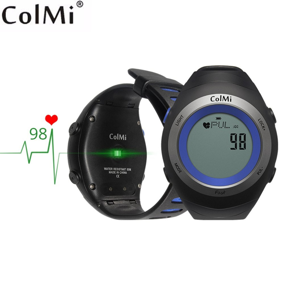 ColMi Fast 5ATM Waterproof Smart Watch Heart Rate Monitor Exercise Time Standby 30 Days Outdoor Sport Running Watch Freeshipping