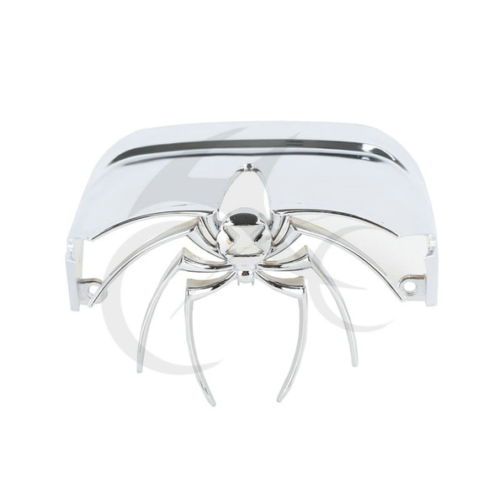 ABS Chrome 3D Spider Rear Tail Light Cover for Harley Davidson Dyna Electra Glide FLHX комплекты нательные для малышей pelican комплект