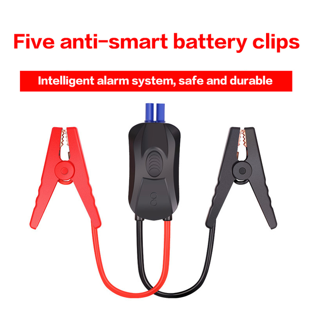 Soulor Car battery clip line Fire line clip Battery cable Emergency start Power clip bold